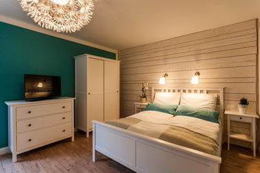 Haus am See BNB Brühl - Deluxe Zimmer Bleibtreusee