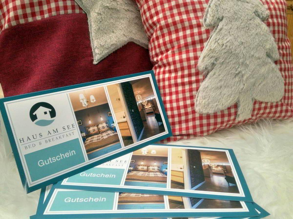 Geschenkgutschein für Haus am See Bed and Breakfast in Brühl